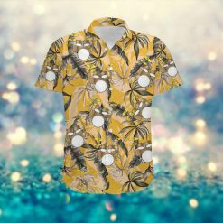 Drums Retro Vintage Style Custom Name Women Hawaiian Aloha Tropical Floral Button Up Shirt For Drummers OIn Summer