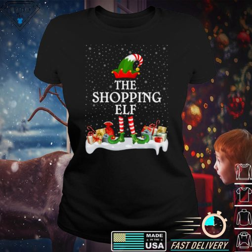 Family Matching Group Christmas The Shopping Elf Long Sleeve T Shirt