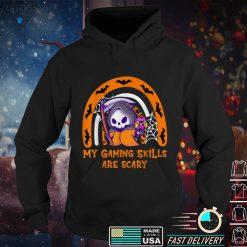Funny Halloween Gaming Skills Gamer Girls or Boys Halloween T Shirt 1