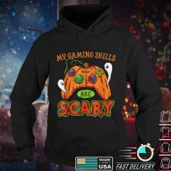 Funny Halloween Gaming Skills Gamer Girls or Boys Halloween T Shirt