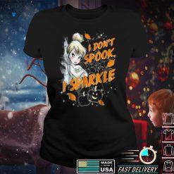 Halloween I Don't Spook, I Sparkle Pumpkin For Women Men T Shirt