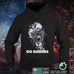 Helmet go Raiders shirt