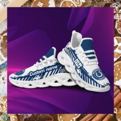 IndianaIndianapolis Colts American NFL Football Team Helmet Logo Custom Name Personalized Men And Women Max Soul Sneakers Shoes For Fans Copypolis Colts American NFL Football Team Helmet Logo Custom Name Personalized Men And Women Max Soul Sneakers Shoes For Fans Copy