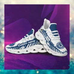 Indianapolis Colts American NFL Football Team Helmet Logo Custom Name Personalized Men And Women Max Soul Sneakers Shoes For Fans Copy