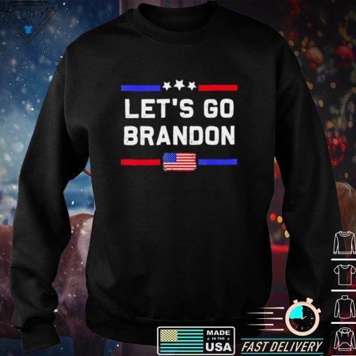 Lets Go Brandon Conservative Anti Liberal Us Flag Shirt