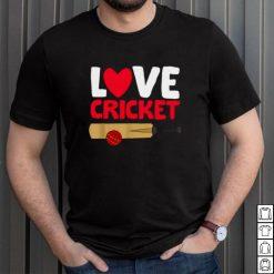 Love Cricket Cricket Player Shirt
