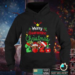 Merry Christmas 2021 Reindeer Funny Pajamas Family Xmas T Shirt (3)
