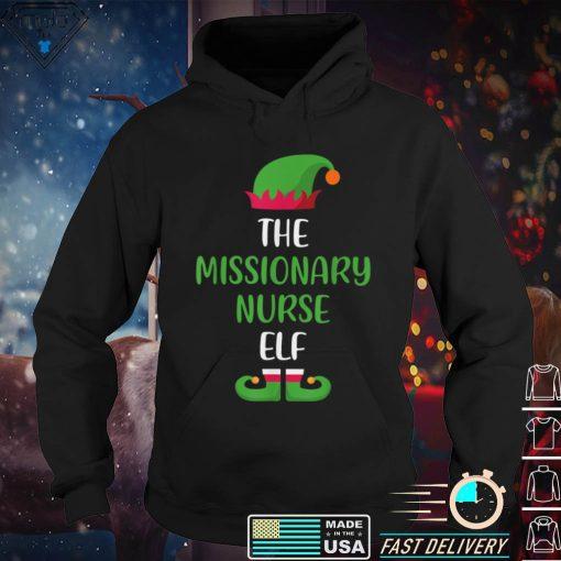 Missionary Nurse Elf Christmas Family Matching T Shirt