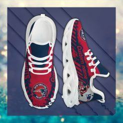 New England Patriots American NFL Football Team Helmet Logo Custom Name Personalized Men And Women Max Soul Sneakers Shoes For Fan