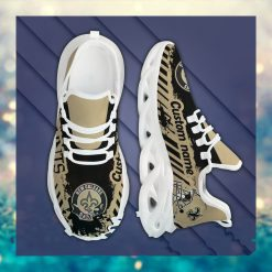 New Orleans Saints American NFL Football Team Helmet Logo Custom Name Personalized Men And Women Max Soul Sneakers Shoes For Fan