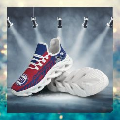 New York Giants American NFL Football Team Helmet Logo Custom Name Personalized Men And Women Max Soul Sneakers Shoes For Fan