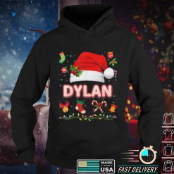Official Dylan Santa Claus Hat Family Merry Christmas Xmas Costume T Shirt