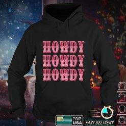 Official Howdy Space Cowgirl T Shirt