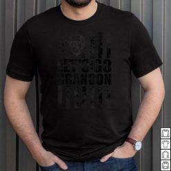 Official Let's Go Brandon US Flag T Shirt