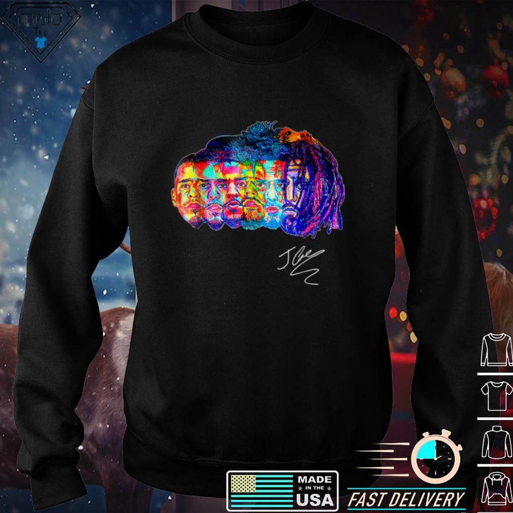 Retro Evolution Of J Cole D.reamville T Shirts T Shirt