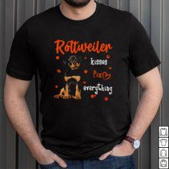 Rottweiler Kisses Fix Everything Shirt