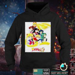 Sailor moon s the movie shirt