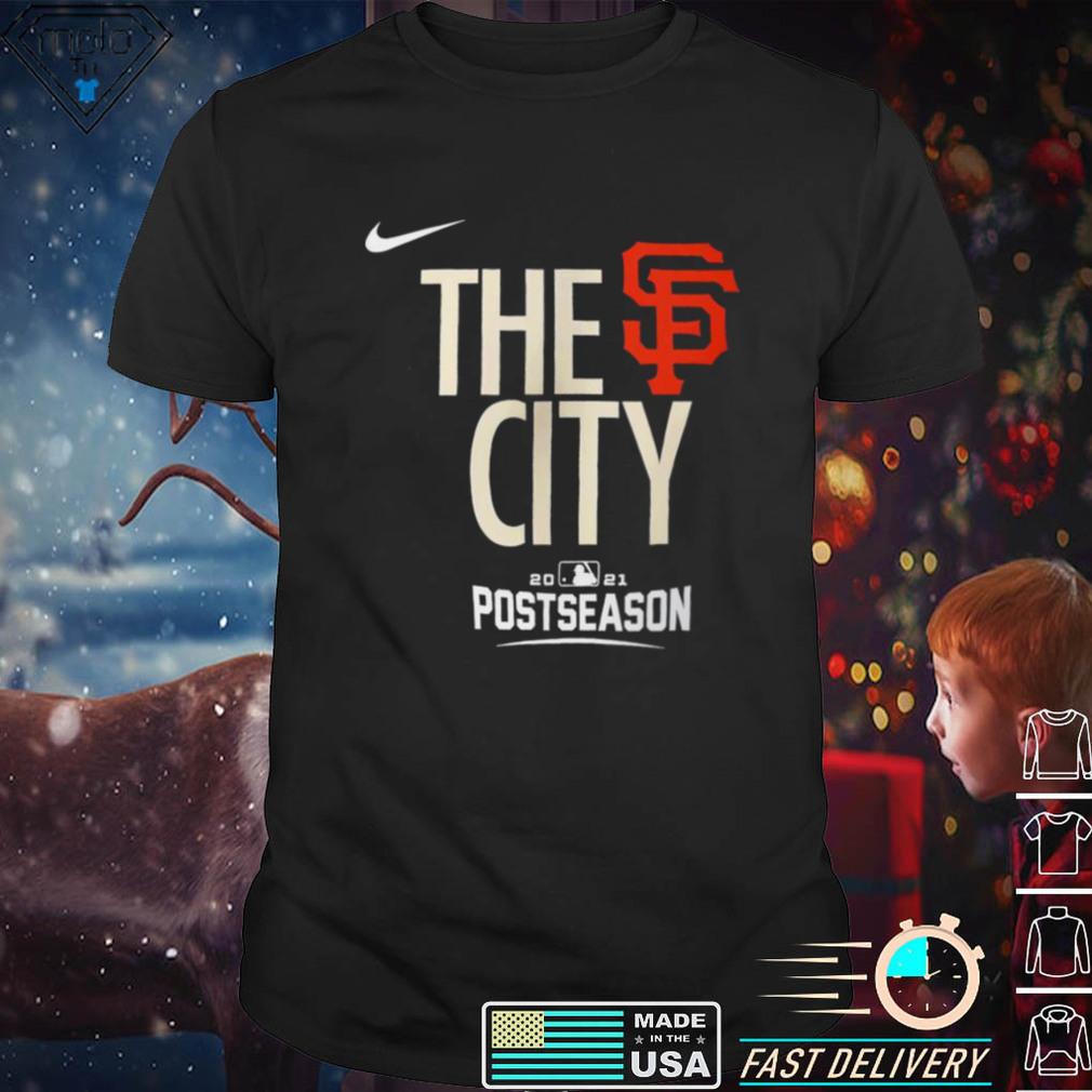 San Francisco Giants The City 2021 Postseason Shirt