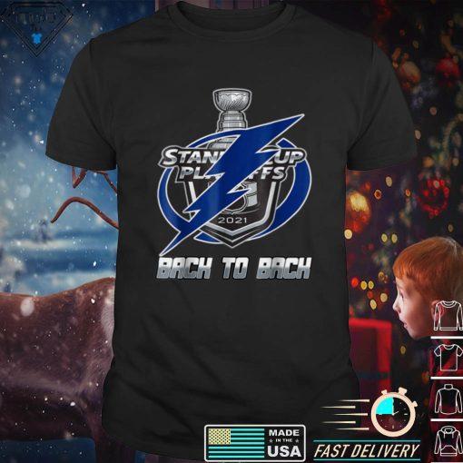 T_ampa Bays City Back to Back Lightning Thunder Reign Hockey T Shirt
