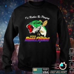 The hard times shop sega bass fishing shirt