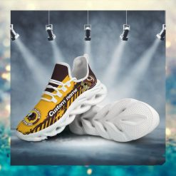 Washington Redskins American NFL Football Team Helmet Logo Custom Name Personalized Men And Women Max Soul Sneakers Shoes For Fan